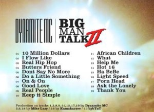 Big Man Talk 2 track listing