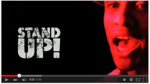 'Stand up' featuring Dynamite Mc produced by Friction and Camo and Crooked