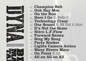Big Man Talk 3 - track listing