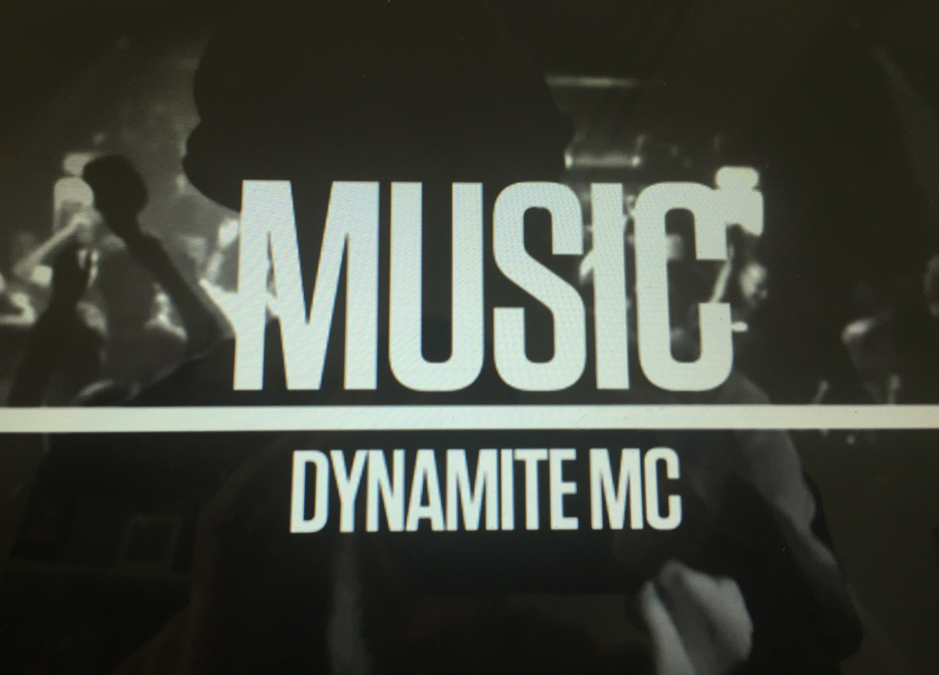 'MUSIC' DYNAMITE MC VIDEO